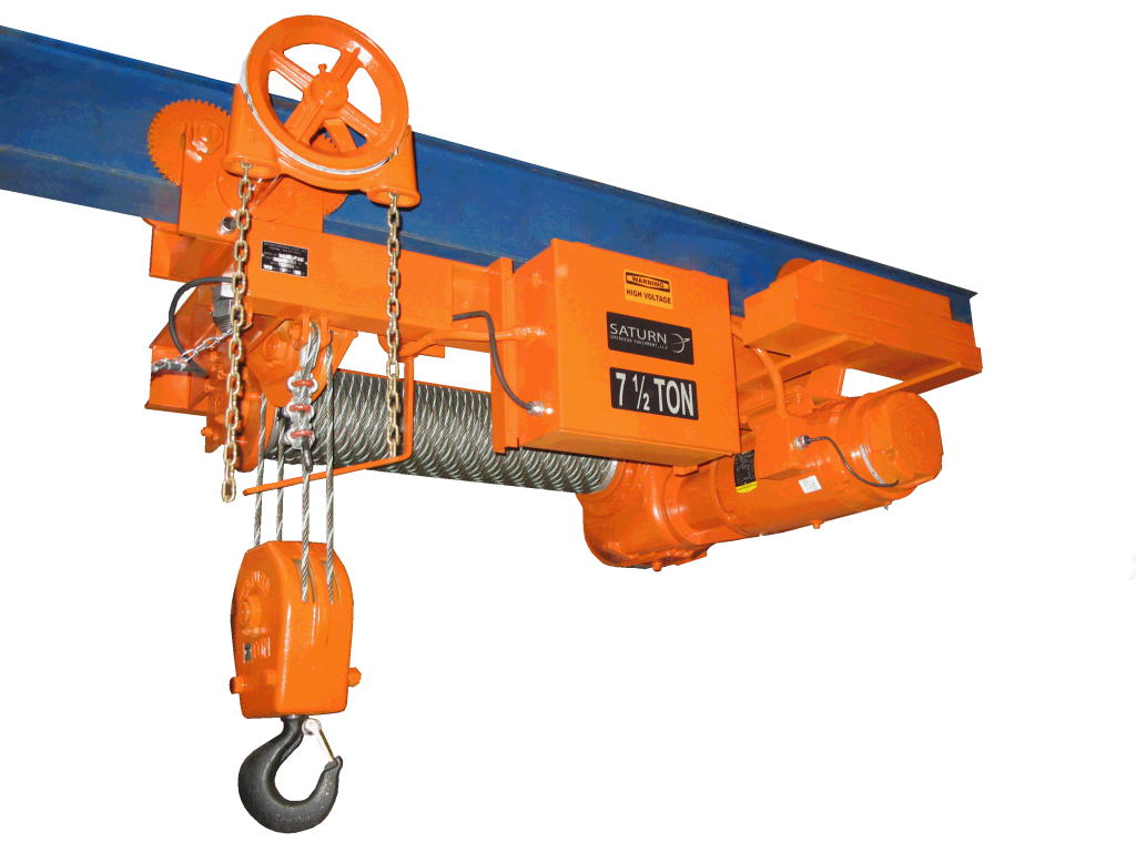 Wire Rope Hoists – Saturn